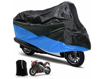 Motorcycle Rain UV Dust Cover Dust Bike Protector XL Blue...