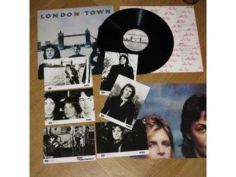 Paul McCartney - London Town Svensk 1:a Press    (351562050) ᐈ Köp