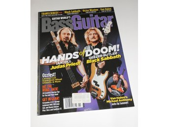 Bass Guitar Oct-Nov 2004 Geezer Butler, Ian Hill...