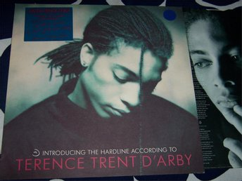 TERENCE TRENT D´ARBY - INTRODUCING THE HARDLINE LP 1987
