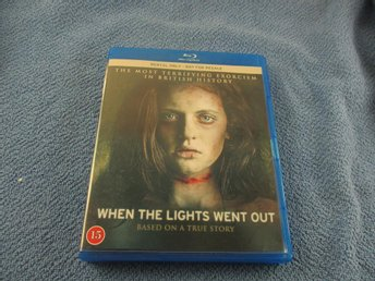 WHEN THE LIGHTS WENT OUT - BLU RAY - SVENSK TEXT