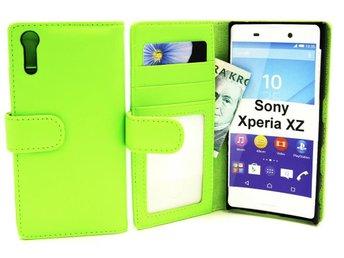 Plånboksfodral Sony Xperia XZ (F8331) (Grön) - Tibro / Swish 0723000491 - Plånboksfodral Sony Xperia XZ (F8331) (Grön) - Tibro / Swish 0723000491