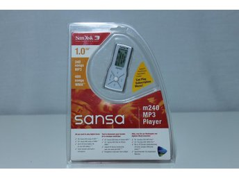 SANDISK SANSA MP3/WMA SPELARE MED 1GB OBRUTEN FÖRP. - Kungsör - SANDISK SANSA MP3/WMA SPELARE MED 1GB OBRUTEN FÖRP. - Kungsör