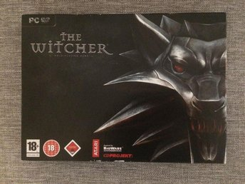 The Witcher - Limited edition box PC-DVD (fri frakt)
