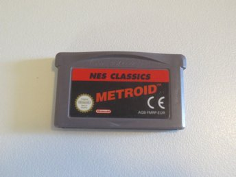 Nes Classics Metroid Gameboy Advance GBA