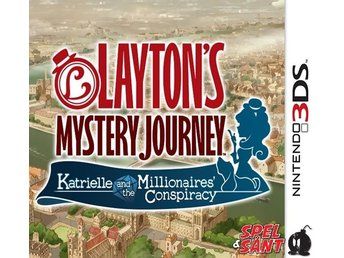 Laytons Mystery Journey Katrielle and the Millionaries Conspiracy