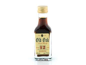 Javascript är inaktiverat. - Jordbro - Old Oak Whisky 12 år är en god och väldigt populär essens på 20 ml som blir till 70 cl god whisky. Old Oak är kända för sina goda whiskyessenser och den här är inget undantag då den smakar identiskt med en whisky som är tillverkad ut - Jordbro