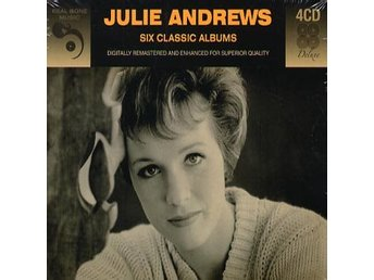 Andrews Julie: 6 classic albums 1956-62 (Digi) (4 CD)