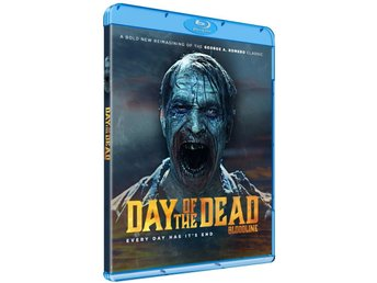DAY OF THE DEAD: BLOODLINE (2018) Blu-ray Sv. text  *Ny & Inplastad*