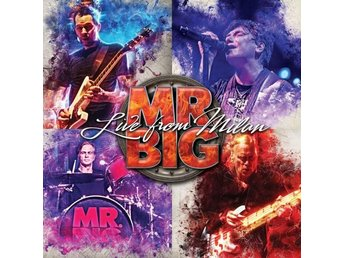 Mr Big: Live from Milan 2017 (Digi) (Blu-ray + 2 CD)