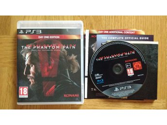 PlayStation 3/PS3: Metal Gear Solid 5 V The Phantom Pain