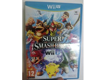 """Super Smash Bros for Wii U"" (begagnat, fint skick) Wii U"