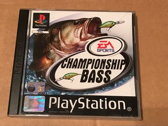 Championship Bass till Playstation