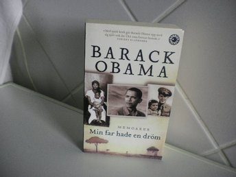 Pocket bok, Barak Obama, Min far hade en dröm