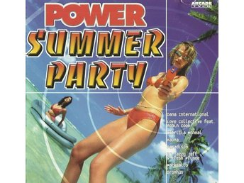 Power Summer Party  CD-skiva