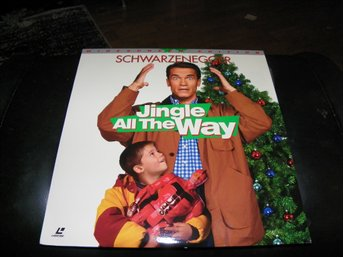 Jingle all the way - AC-3 - Special Widescreen edition 1st  Laserdisc