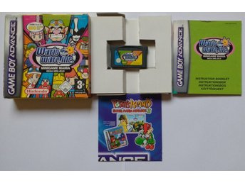 1KR! Gameboy Advance GBA Wario Ware Inc Minigame Mania