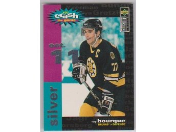 UD 95-96 Crash The Game - silver - # C24 BOURQUE Ray - OCT11