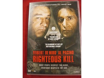RIGHTEOUS KILL - ROBERT DE NIRO, AL PACINO - DVD