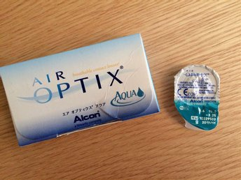 Air Optix Aqua (1 mjuk lins) styrka -3,25 - Lund - Air Optix Aqua (1 mjuk lins) styrka -3,25 - Lund