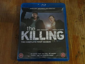 THE KILLING - The complete first season (3-disc Blu-ray)