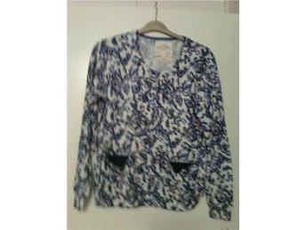 Snygg jumper/cardigan HOLLY WHITE, storl XL - Karlskoga - Snygg jumper/cardigan HOLLY WHITE, storl XL - Karlskoga