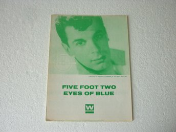 Notblad Nothäfte fr.1960 Freddy Cannon - Five Foot Two ...