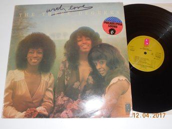 THE THREE DEGREES - With love, LP Philadelphia Holland 1975