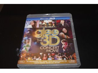 Blurayfilm: Glee The 3D concertmovie