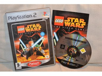 Lego Star Wars: The Video Game PS2 Playstation 2 Komplett Fint Skick