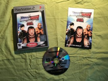 SMACKDOWN VS RAW 2008 PS2 PLAYSTATION 2