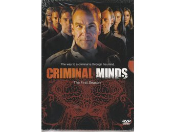 Criminal Minds säsong 1 Box - 6-DVD NY