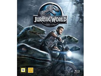 Jurassic World (Blu-ray)- Chris Pratt och Bryce Dallas Howard