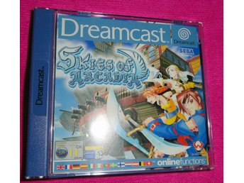 Skies of Arcadia dreamcast komplett