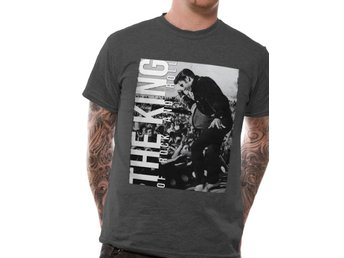 ELVIS PRESLEY - THE KING OF ROCK AND ROLL (UNISEX) - Extra-Large
