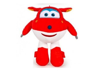 Super Wings Mjukis 18 cm JETT