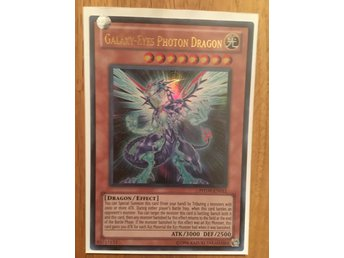 Yu gi oh Galaxy-eyes Photon dragon