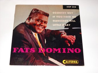FATS DOMINO - COUNTRY BOY  EP