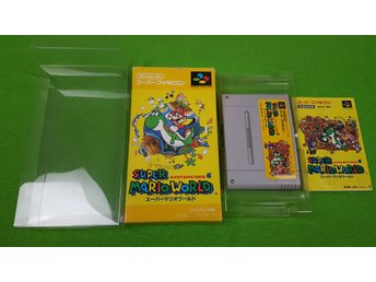 Super Mario World till NTSC-J Super Nintendo Snes