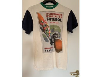 T-shirt World Cup Retro 1950 Brasilien Stl.M (U.. (339394842) ᐈ Köp ... c8927b32e79
