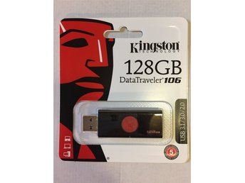 USB-minne Kingston 128GB - helt nytt