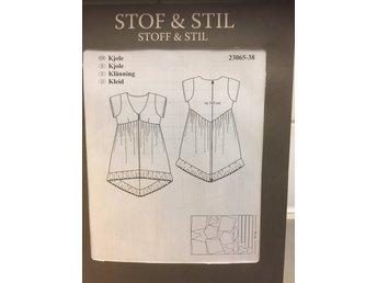 706a451ed868 Mönster från Stoff & Stil, Klänning stl 38. (349907637) ᐈ Köp på ...