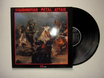 Scandinavian Metal Attack- II V/A Bathory Ger Org Fint Ex 1984
