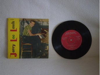 Jerry Lee Lewis    s/t           SVENSK EP.:!!