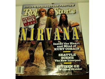 Rolling Stone april 1992 - Nirvana