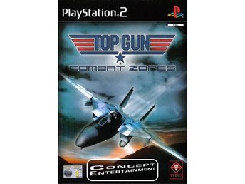 TOP GUN COMBAT ZONES (komplett) till Sony Playstation 2, PS2 - Göteborg - TOP GUN COMBAT ZONES (komplett) till Sony Playstation 2, PS2 - Göteborg