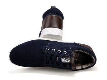 Men's Fashion skor strl 41 dark blue - Los Angeles - Men's Fashion skor strl 41 dark blue - Los Angeles