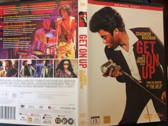 Get On Up - The James Brown Story dvd biopic fri frakt.