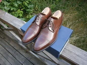 "Nya! Loake ""Abberline"" storlek UK 8"
