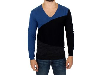 Costume National - Black wool V-neck sweater